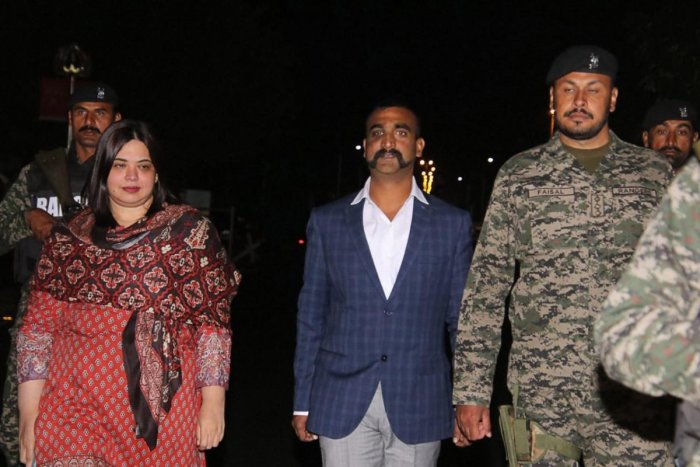 What Abhinandan Varthaman did is not everyone's cup of tea. He hunted the hunter, the Hindi poem read. (PTI File Photo)