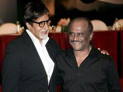 Big B launches Hindi trailer of Rajinikanth's 'Kochadaiiyaan'