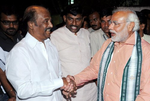 It's a courtesy call, says Rajini on Modi meeting