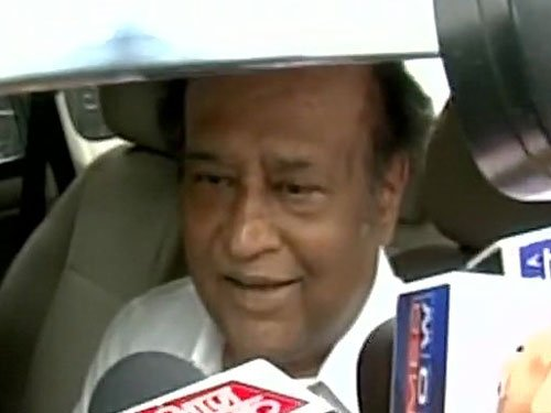 Rajinikanth urges people to vote, evades query on money row
