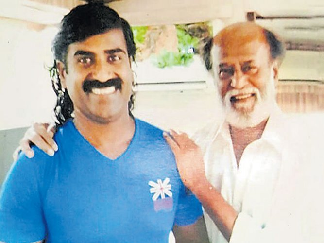 Title for Tamil flick 'Kabali' is Mandya man's gift to Rajini
