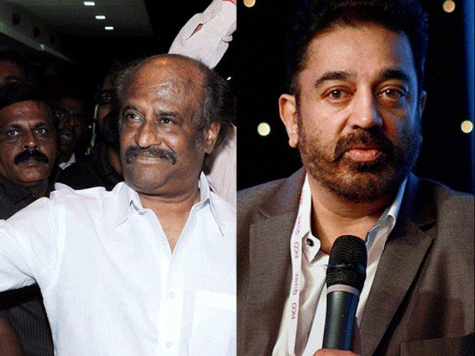 Rajinikanth, Kamal Haasan call for restraint by students