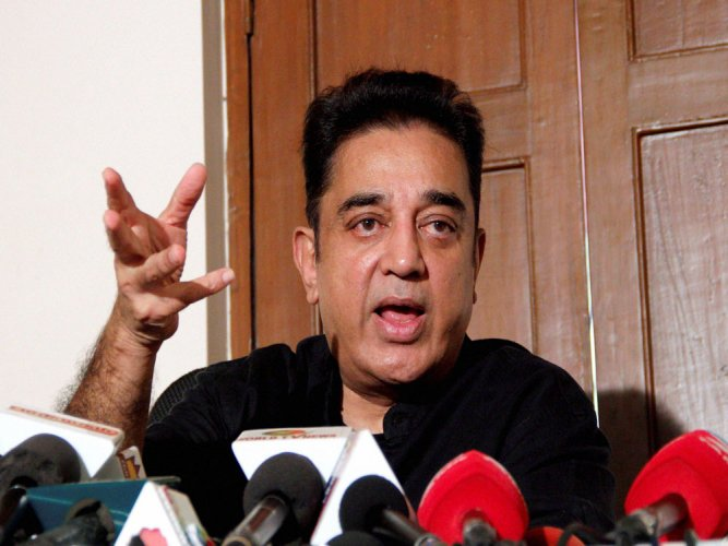 Kamal Haasan comes out in support of CRPF jawans