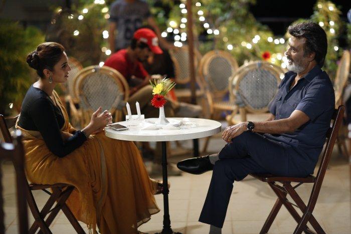 Rajini plays a golden-hearted Mumbai slumlord in Kaala.