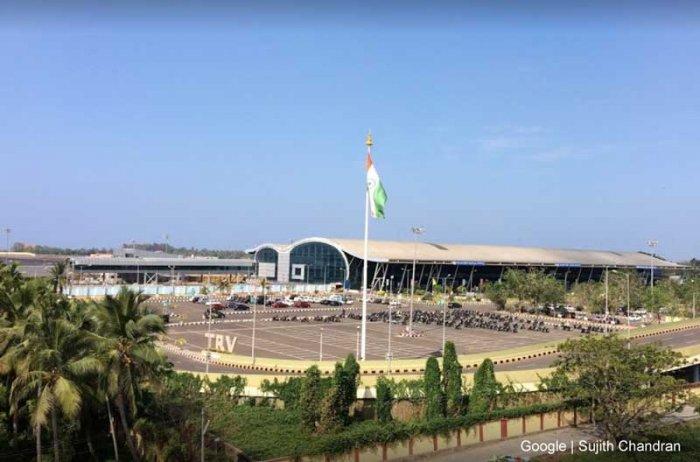 Thiruvananthapuruam International Airport (Photo credit: Google Maps)