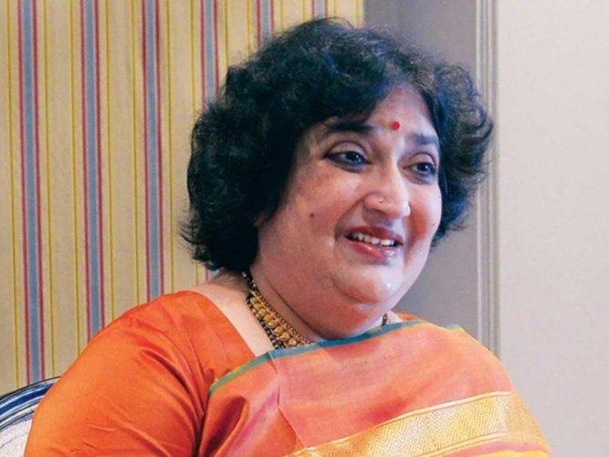 Rajinikanth's wife Latha Rajinikanth, DH file photo
