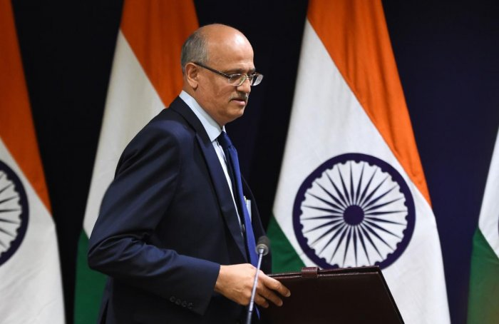 Indian Foreign Secretary Vijay Keshav Gokhale (AFP File Photo)