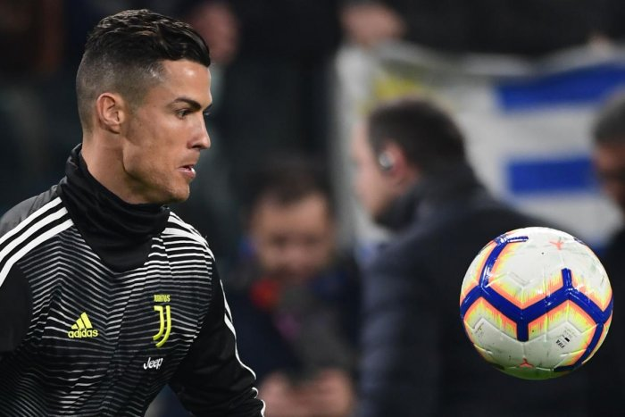 Juventus will pin their hopes on five-time Champion League winner Cristiano Ronaldo when they welcome Atletico Madrid in Turin. AFP