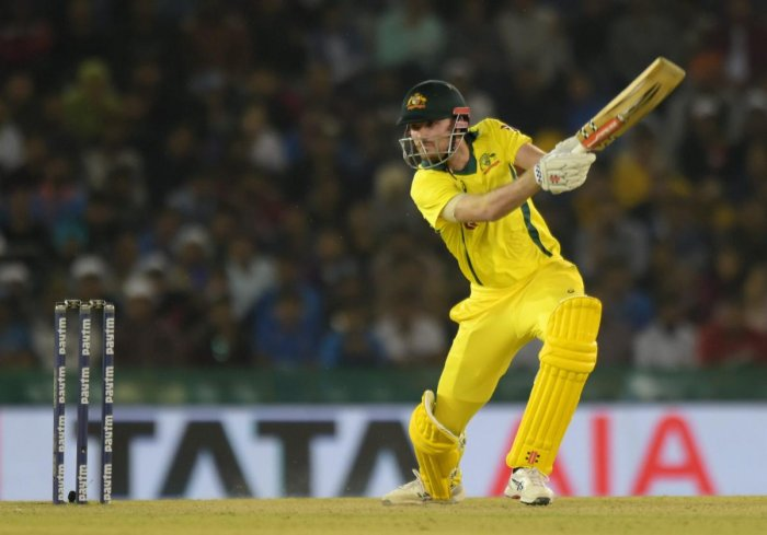 From a relative anonymity, Ashton Turner earned overnight fame with a 43-ball 84 against India. AFP