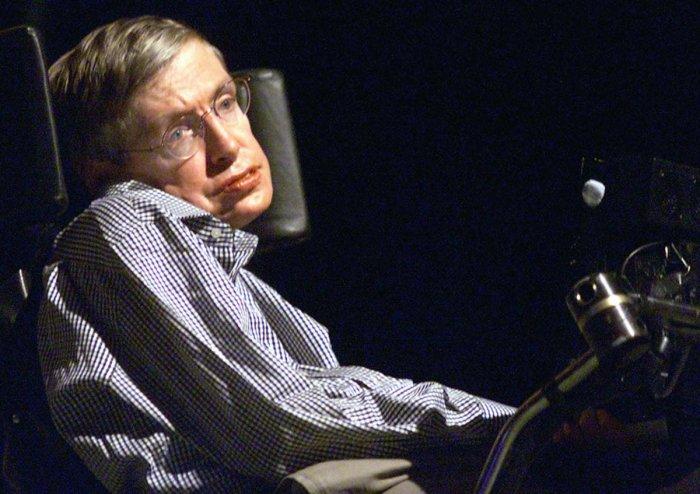 Late British astrophysicist Stephen Hawking. AFP file photo