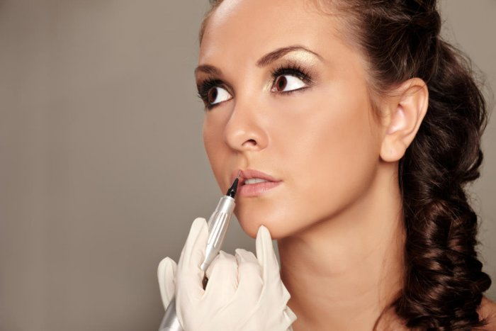 Many people are increasingly taking to permanent make-up today