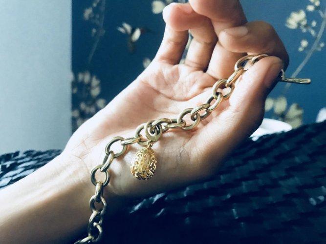 Charm bracelets are a casual fashion accessory.