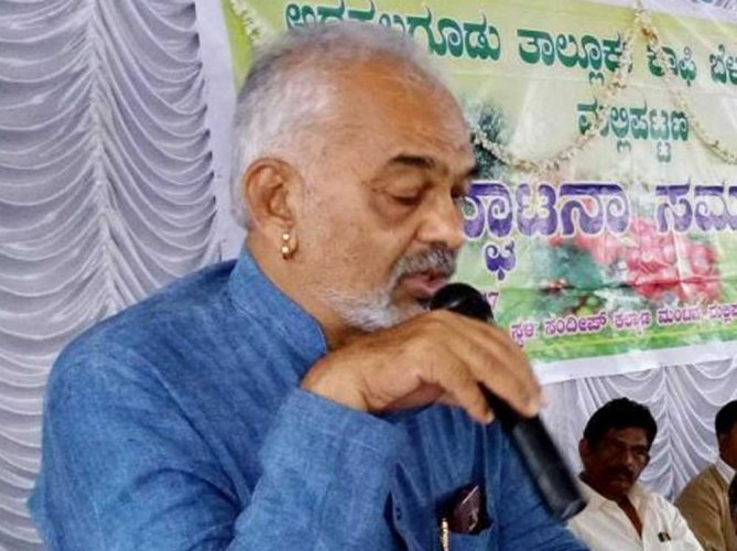 Former Congress MLA and minister A Manju is all set to join the BJP and contest against Prajwal Revanna of the JD(S), the grandson of former prime minister H D Deve Gowda. DH file photo