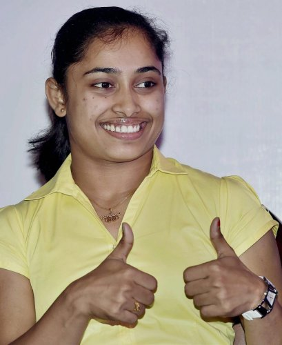 Dipa Karmakar. PTI File Photo
