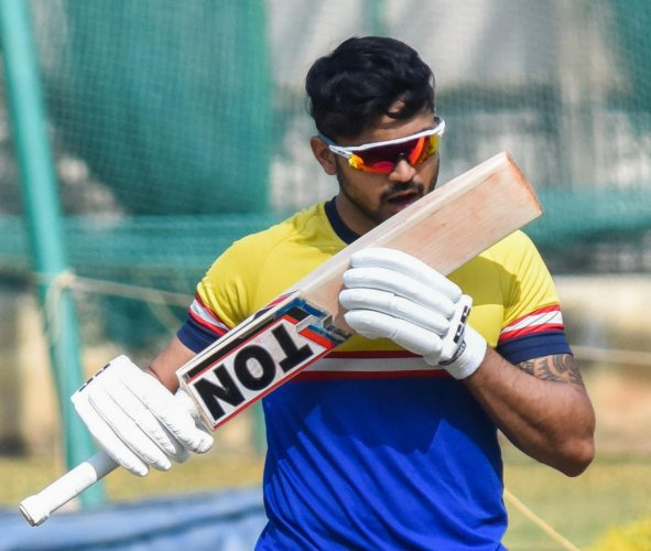 KEY MAN: Karnataka would want their in-form skipper Manish Pandey to deliver in the final against Maharashtra on Thursday. DH FILE PHOTO