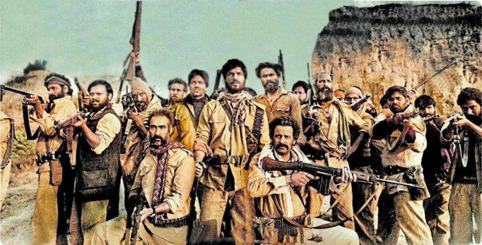 Directed by Abhishek Cahubey, Sonchiriya is set in the '70s. It stars Sushant Singh Rajput and Manoj Bajpayee.