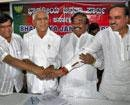 BSY, rebels make peace, vow to win bypolls