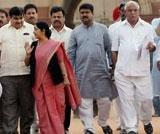 BSY to parade MLAs before Raj Bhavan