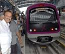 Karnataka CM invites PM to inaugurate Bangalore Metro rail