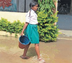 In govt schools, students are servants
