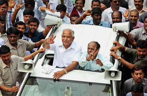 BJP goes slow in action against BSY supporters