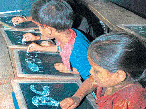 Class 1 girls in govt schools to get Rs two for each day's attendance
