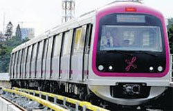 10.3 km Bangalore metro line to be operational in September