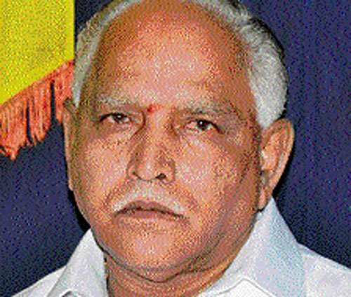 Quitting BJP a mistake: BSY