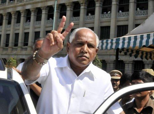 BJP leaders working on 'grand' return of BSY