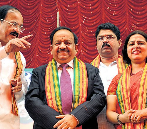 BJP kicks off campaigning in Bangalore North constituency without a candidate