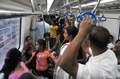 Metro green line nets Rs 1.33 cr revenue in a month's time