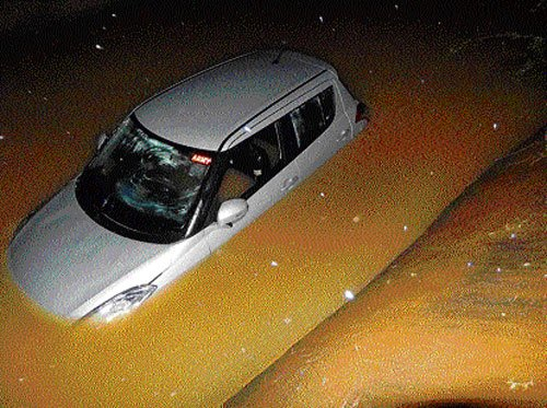 BSY's escort men rescue five from water channel