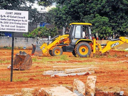 Land-grabbers 'eye' posh layout near KIA