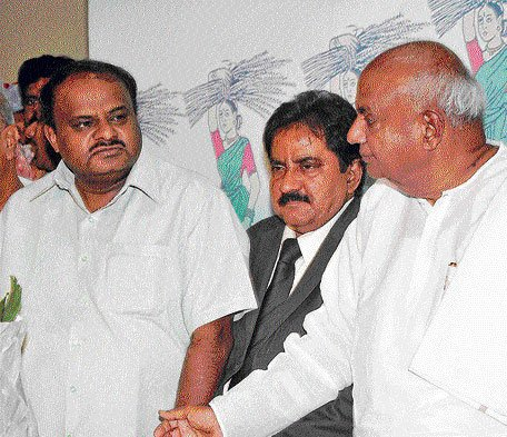 HDK back as State JD(S) president
