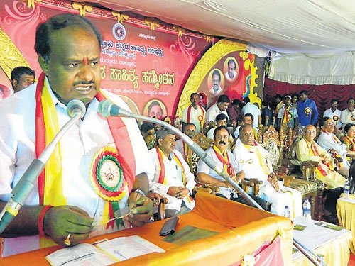 Kumaraswamy calls for  state-wide protest on Dec 5