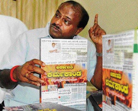 Govt violated court orders on Arkavathi layout: HDK