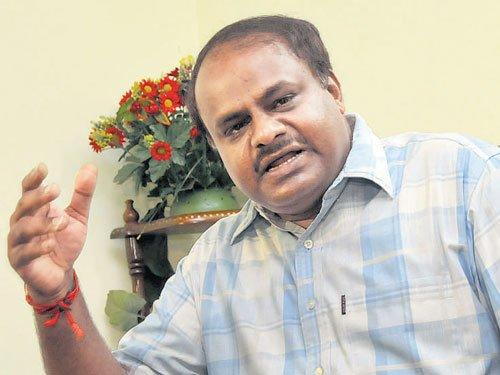 Siddu registered property on false information:HDK