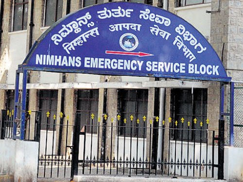 Drug user hangs himself at Nimhans