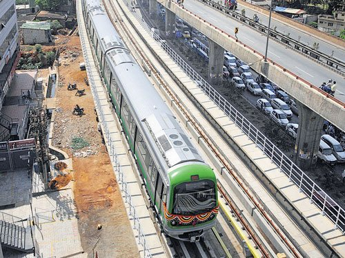 BMRCL to lease its land, space in metro stations