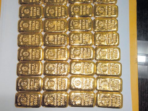 Andhra woman arrested at KIA for smuggling 4.4-kg gold