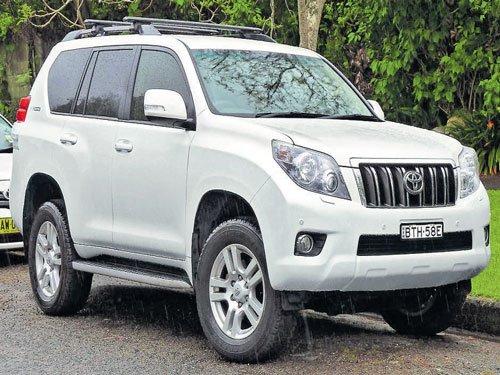 BSY to cruise around  in luxury Toyota Prado