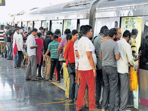 No women-only coach in Metro trains for now: BMRCL