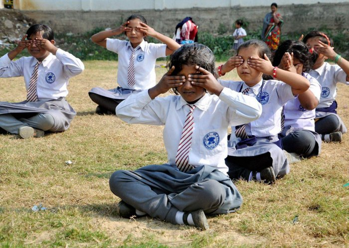 Yoga education programme to be compulsory in UP govt schools