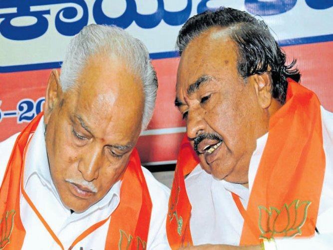 Apologise to RSS leader, Eshwarappa tells BSY