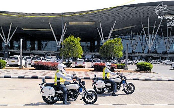 KIA, first airport to launch custom-made patrolling  bikes