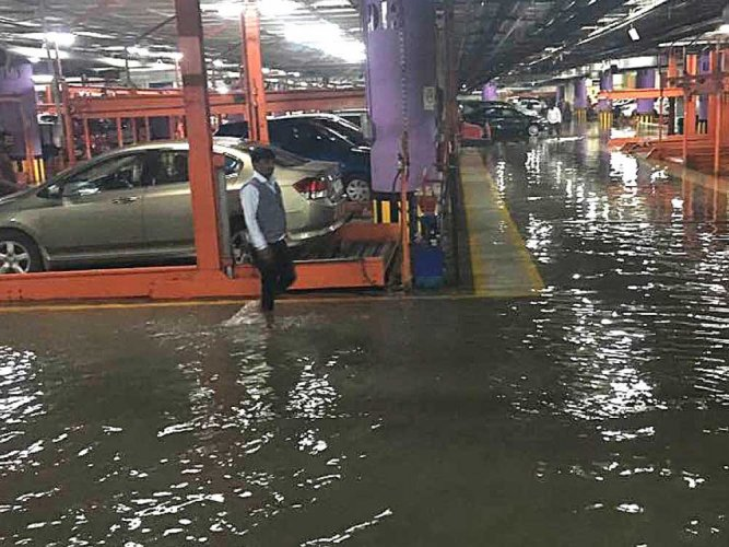 City received more rainfall than it could deal with