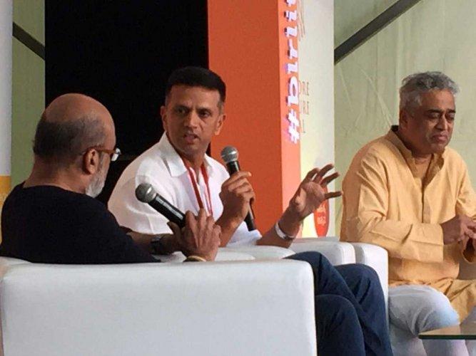 Bangalore Literature Festival 2017: Dravid, Prasanna, Kirmani and Chandrasekhar kick-off day 2