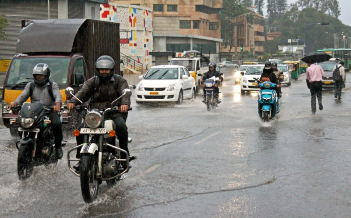Light to moderate rainfall forecast over city, south interior Karnataka