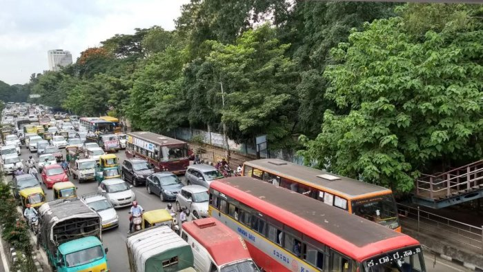 Multiple protests hold up traffic in Bengaluru