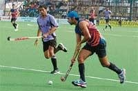 IOCL, BPCL, Fortis, Army Red win day's matches